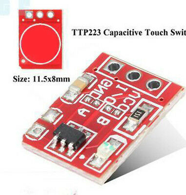 1PCS TTP223 Capacitive Touch On-off Switch Button Self-Lock Module Trims