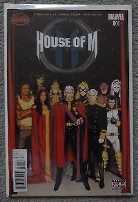 House Of M #1..hopeless/failla..marvel 2015 1St Print..nm..secret Wars