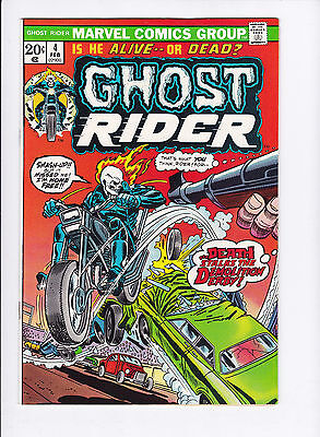 Ghost Rider #4 Vf/nm