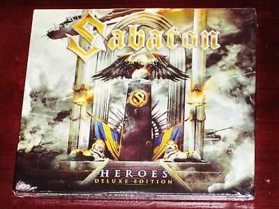 Sabaton: Heroes - Limited Deluxe Edition 3 CD Set 2015 Nuclear Blast NB USA NEW