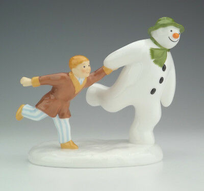 Coalport China Characters - The Snowman - The Adventure Begins - Lovely!