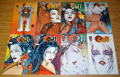 Shi: the Way of the Warrior #1-12 VF/NM complete series - bill tucci set lot
