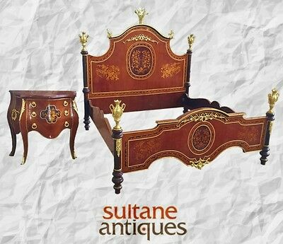 in 8 weeks Super elegant Louis xv style king size bed