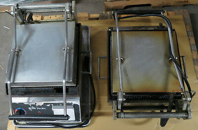 2 Star Pro-Max Commercial Panini Grills Tested Working