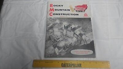 Rocky Mountain Construction Mag. Sept. 18, 1961 Project Articles and Old Ads