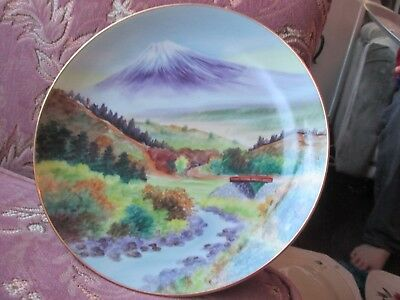 Hand Painted Plate, Made In Japan