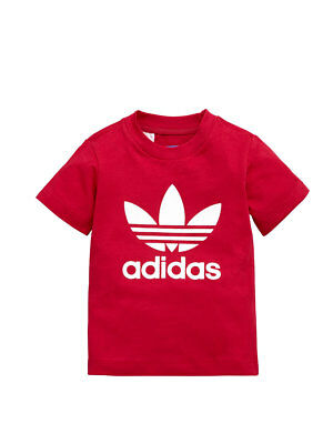 adidas Baby Girl Trefoil T-shirt in Pink Size 12-18 Months