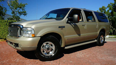 2004 Ford Excursion EXURSION LIMTED POWER STROKE DIESEL LEATHER REAR D VERY RARE ONE OF THE BEST VEHICLES EVER MADE SUPER CLEAN RUNS GREAT!!!!!!!!!!!!!