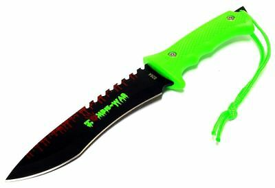 """9"""" ZOMBIE WAR TACTICAL Fixed Blade FULL TANG SURVIVAL Knife W/ SHEATH COMBAT"""