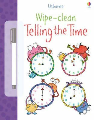 Wipe Clean Telling the Time by Jessica Greenwell 9781409551737 (Paperback, 2013)