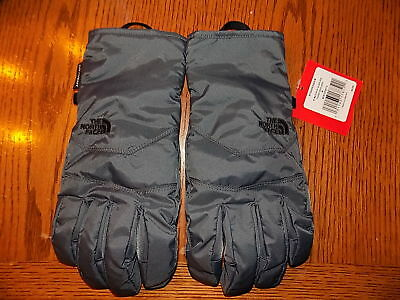 NWT North Face Men's WATERPROOF Gloves Winter Grey LARGE Free Shipping  $50.00