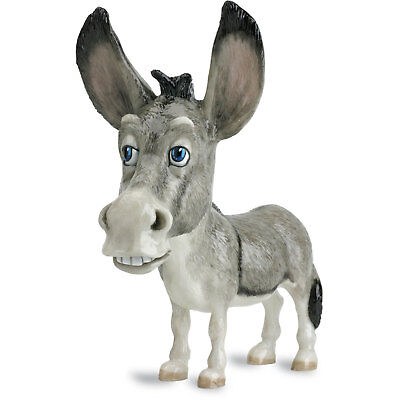 """Pets With Personality """"Dooly"""" Donkey Figurine 8.75"""" High New In Box Made In UK"""