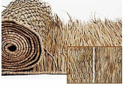 "COMM GRADE 30""x 60' Mexican Palapa Tiki THATCH ROLL Palm Thatching"