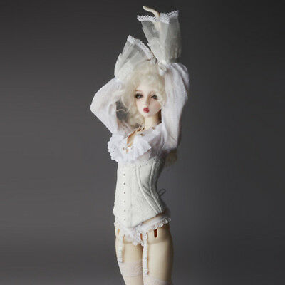 Dollmore BJD Model & SD - Unisex Corset (White)[A5]