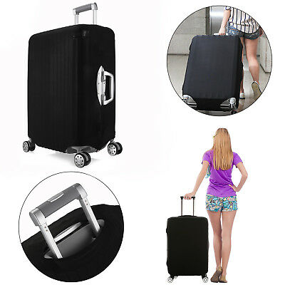 """Size M/L Elastic Travel Luggage Suitcase Protective Cover Protector for 22""""- 28"""""""