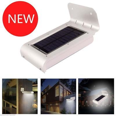 16 LED Solar Power Motion Sensor Security Lamp Outdoor Waterproof Light PK
