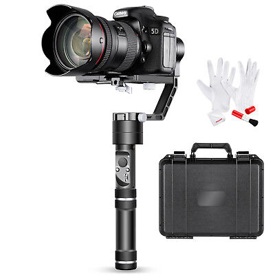 Crane 3-Axis Handheld Gimbal Stabilizer with Cleaning Kit for DSLR