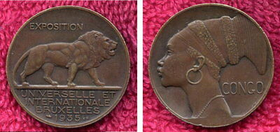 1935 Brussels Expo Medallion