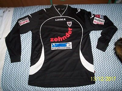 FC AARAU LEGEA 2000's away ZEHNDER football Shirt/Trikot rare!!