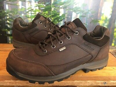 Brasher Mens Uk 8 Country Roamer Walking Shoes Brown Leather Rrp £120 (#11)