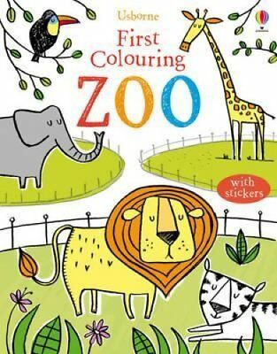 First Colouring Book Zoo by Jessica Greenwell 9781409534808 (Paperback, 2013)