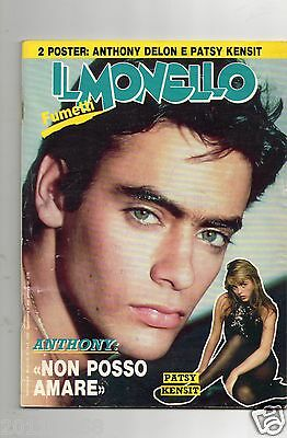 il monello 1987 n.15 Anthony Delon Patsy Kensit Curiosity Killed The Cat M. Suma