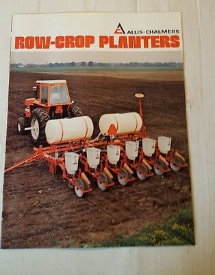 ALLIS-CHALMERS Row-Crop Planters BOOKLET