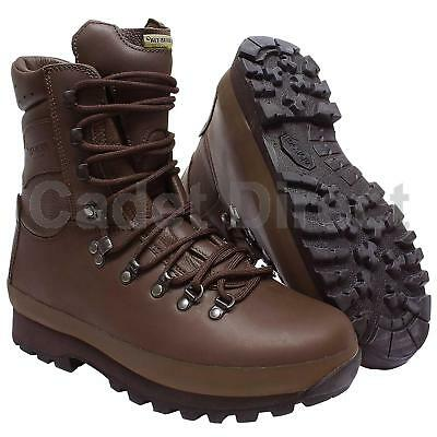 British Forces Alt-Berg Defender Combat Boot, MOD Brown, Brand New