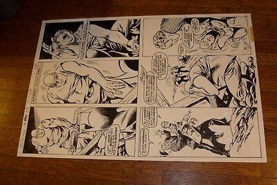 Detective #480 Original Art, Don Newton &  Dave Hunt, Page 16, Batman