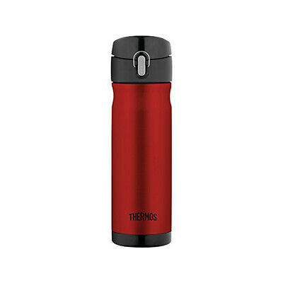 Thermos 16 Ounce Stainless Steel Commuter Bottle, Cranberry