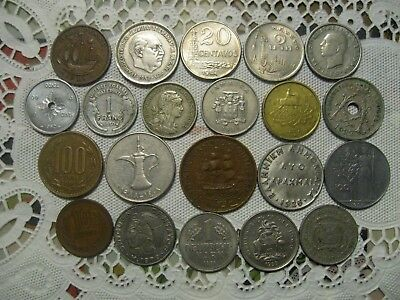 World Coins 75 Different - Europe,Asia,S.America, Australia, Africa, Middle East