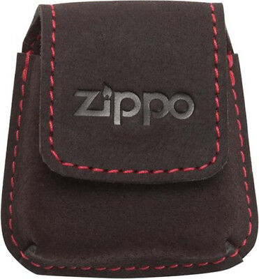 """NEW in GIFT BOX 4.13 × 3.54/"""" ZIPPO GENUINE LEATHER MOCHA CREDIT CARD WALLET"""