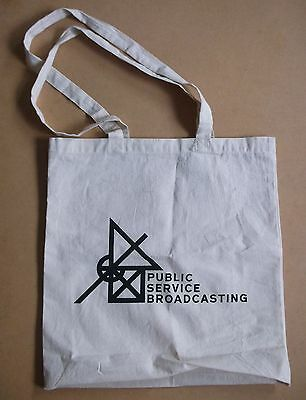 PUBLIC SERVICE BROADCASTING Every Valley 2017 UK promo only tote bag