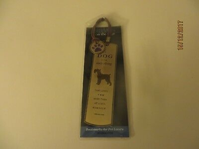 Paws On The Page Bookmark Schnauzer