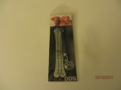 Paws On The Page Bookmark Dog Bone