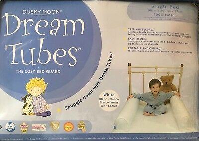 Dusky Moon Dream Tubes Bed Guard Bumpers - Single Sheet And Tubes