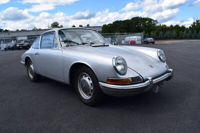 1966 Porsche 912  1966 Silver Coupe 5 Speed Manual Totally Restored Great Driver Collectible