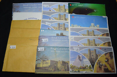 1968-2000 17 Different Royal Canadian Mint Uncirculated Coin Sets