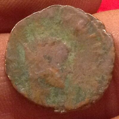 Almost 2,000 years of history-Roman Emperor Claudius the Gothic Quadrans coin>20