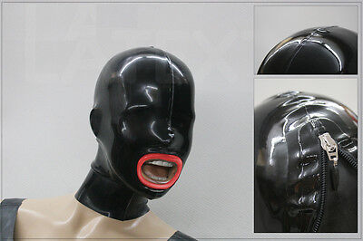 "----- LATEXTIL ----- Latexmaske ""FineLips"" Mask Latex Masque Maske Rubber -NEU-"