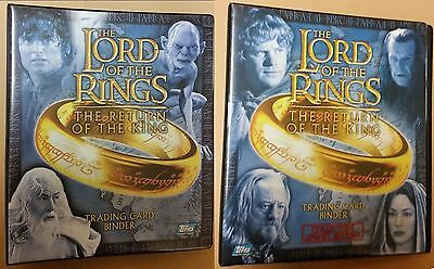 LOTR Lord of the Rings ROTK Return of King set + update auto foil costume promo