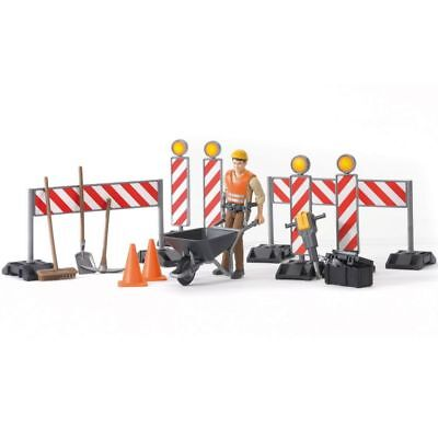 Bruder Bworld Construction Figure Set