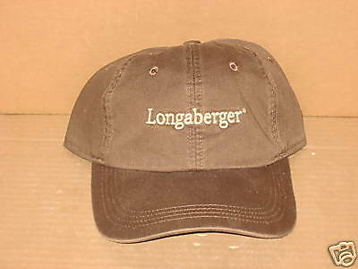 Longaberger Rare Hat GREAT Price Golf Baseball, Logo, mint condition, never used
