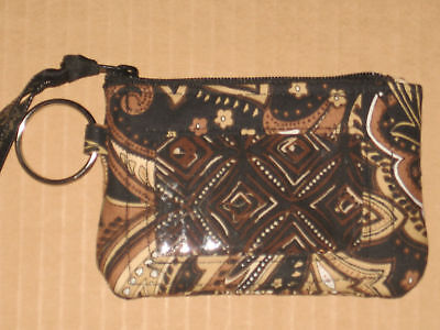 Longaberger Sisters Timeless Check my ID Holder mint condition in bag never used