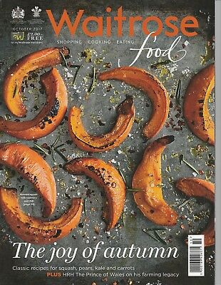 Waitrose Food Magazine - October 2017 - The Joy of Autumn