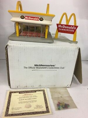 1997 McMemories McDonald's Look For The Golden Arches 31902 With OrIg Box