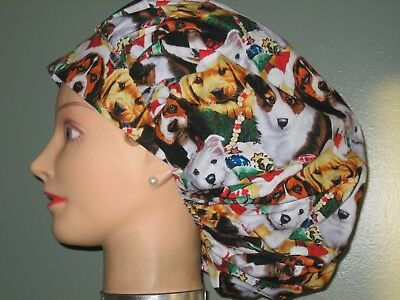 8d409ac977a64 SURGICAL SCRUB HATS CAPS Christmas Cute Adorable Puppies -  9.95 ...