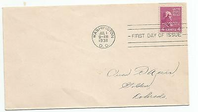 First Day Cover USA Maddison 4 cents