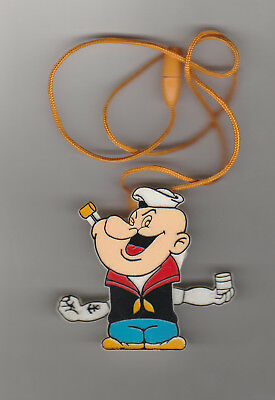 EARLY POPEYE FIGURE  W ITH ARMS THAT TWIRL WHEN PLAStIC BALL IS PULLED UPWARD NM