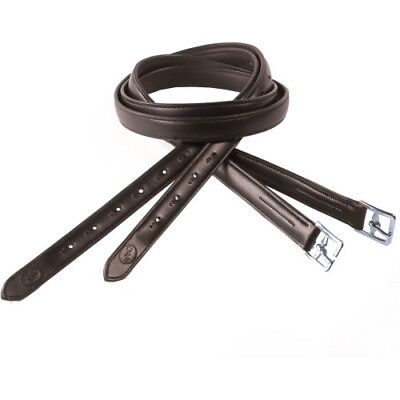 Gfs Reinforced Unisex Saddlery And Equipment Stirrup Leathers - Havana All Sizes